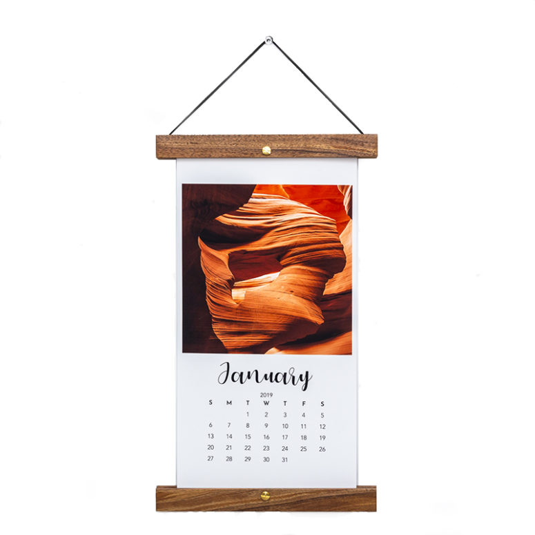 Calendar Bar-Handmade by The Authentic