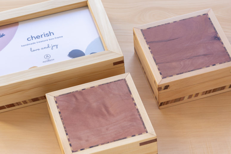Cherish Boxes - Huon Pine -Handmade by the Authentic