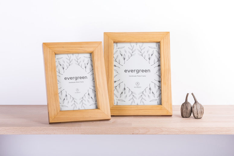 Evergreen Frames - Pine Jarrah - 4x6 & 5x7 - handmade by The Authentic