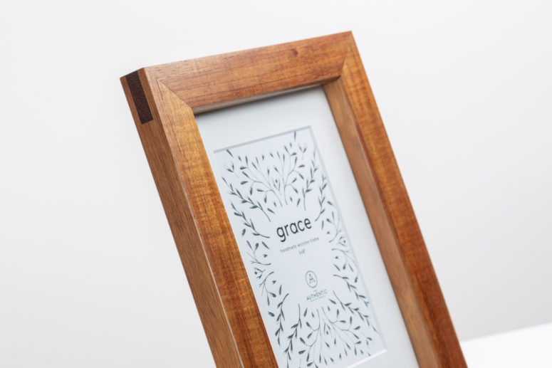 Grace - Blackwood - 6x8 - Handmade by The Authentic