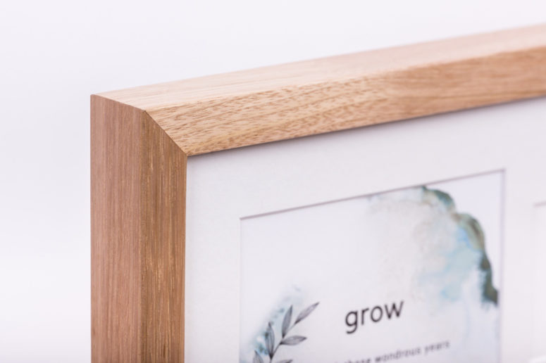 Grow Photo Frame - Tasmanian Oak - L - Handmade by The Authentic