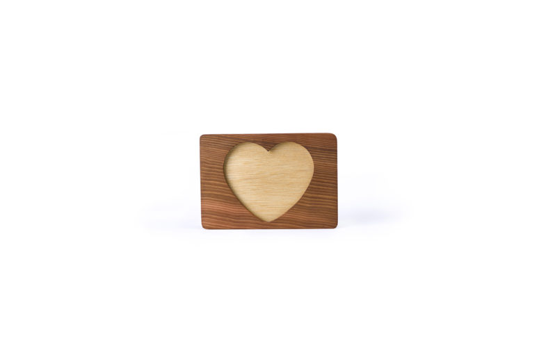 Heart of Gold - Red Cedar Large - handmade by The Authentic