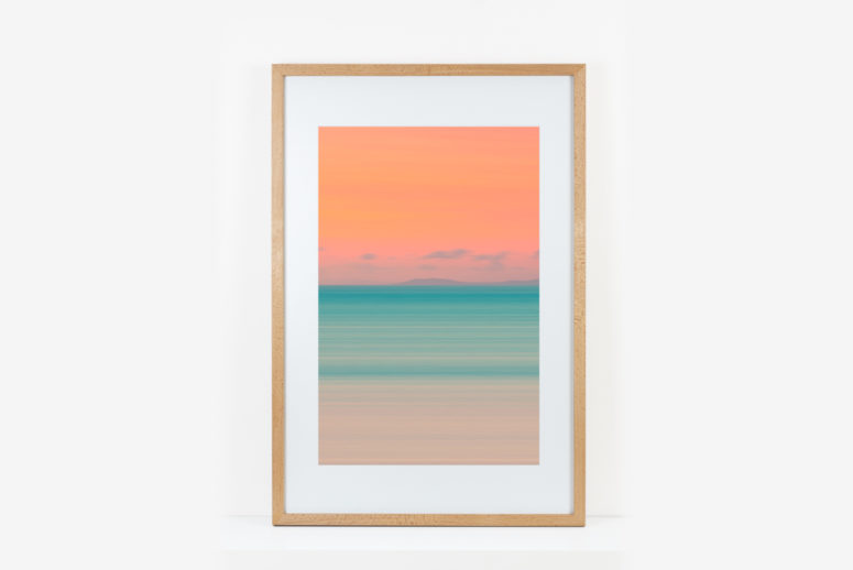 Impact frame - Beech - 20x30 -Handmade by the Authentic