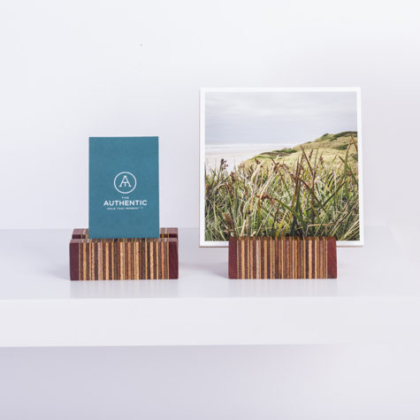 Licorice Display with Fine Art prints & name card - Handmade by The Authentic
