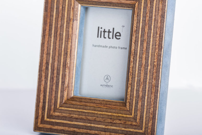 Little Frame - Portrait - bottom detail - Handmade by The Authentic
