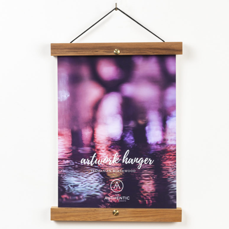 Poster Hanger - 23 & 33cm - Handmade by the Authentic