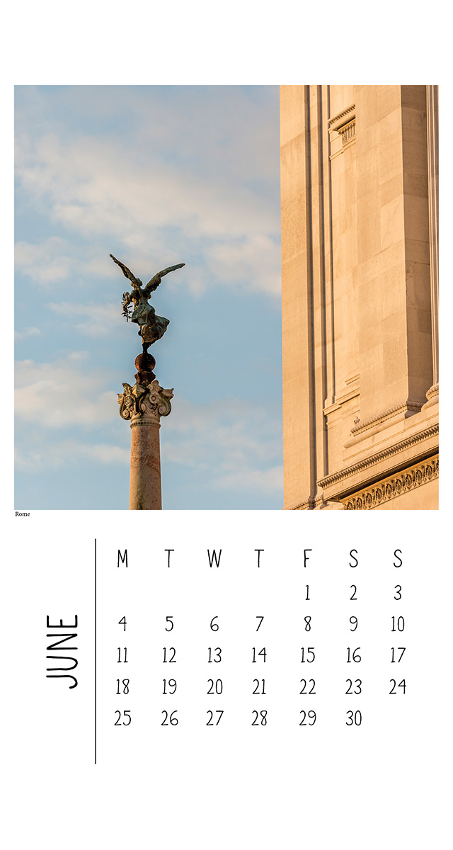 Wall Calendar - Italy - The Authentic