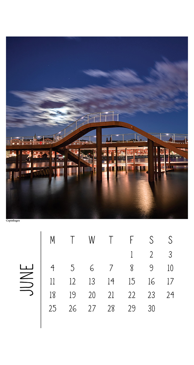 Wall Calendar - North Europe - The Authentic